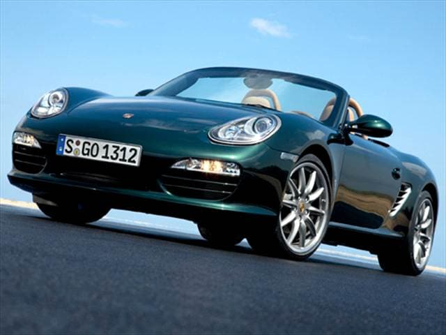 Most Fuel Efficient Convertibles of 2010 - 2010 Porsche Boxster