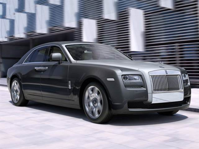 Highest Horsepower Sedans of 2010 - 2010 Rolls-Royce Ghost