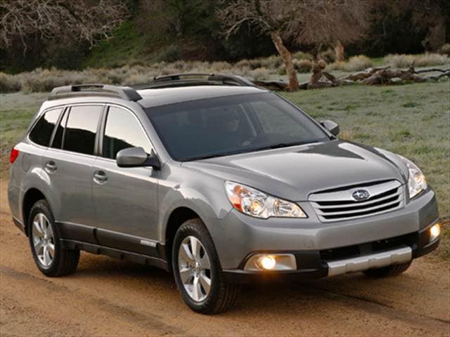 Most Fuel Efficient Crossovers of 2010 - 2010 Subaru Outback
