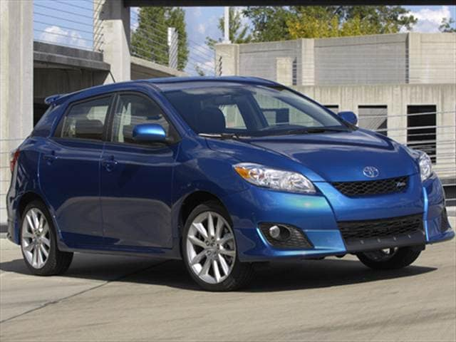 Most Fuel Efficient Wagons of 2010 - 2010 Toyota Matrix
