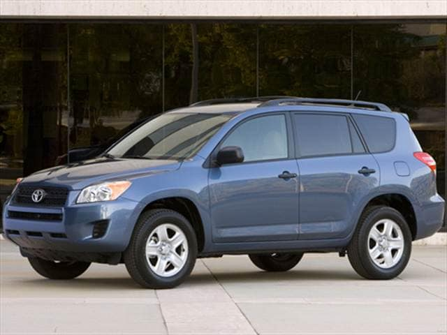 Most Popular SUVs of 2010 - 2010 Toyota RAV4