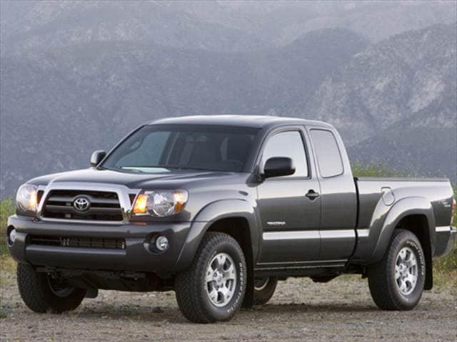 Most Popular Trucks of 2010 - 2010 Toyota Tacoma Access Cab