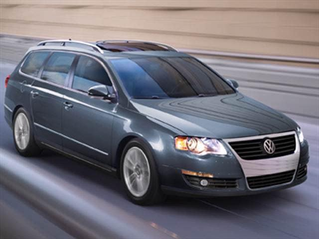 Most Popular Wagons of 2010 - 2010 Volkswagen Passat