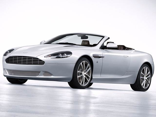 Highest Horsepower Convertibles of 2011 - 2011 Aston Martin DB9