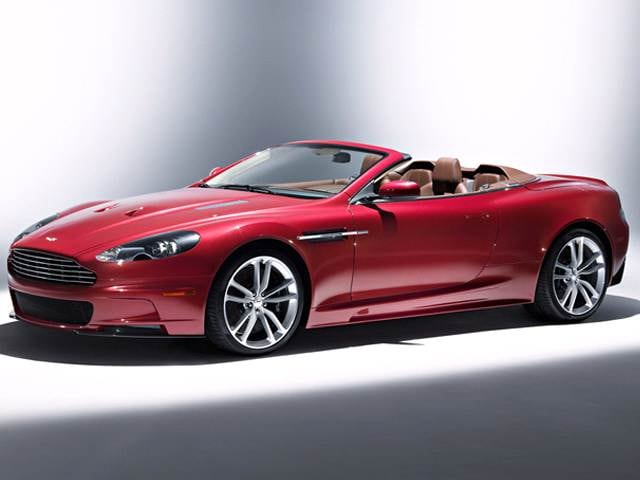 Highest Horsepower Convertibles of 2011 - 2011 Aston Martin DBS