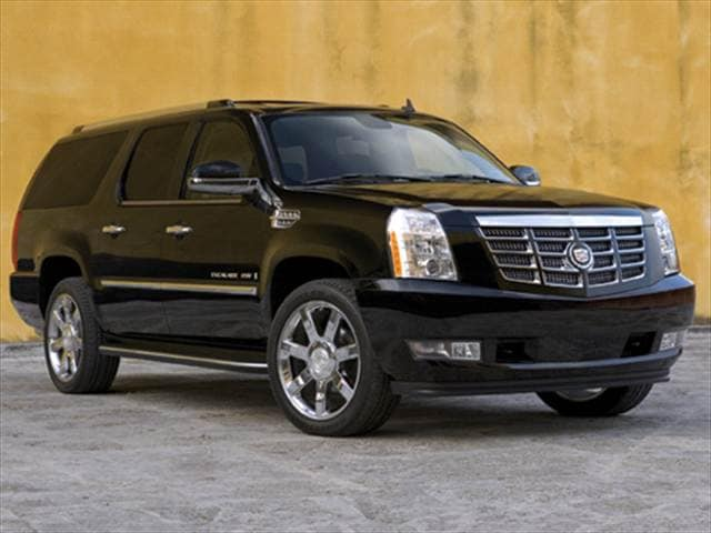 Highest Horsepower SUVs of 2011 - 2011 Cadillac Escalade ESV