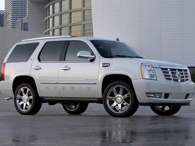 Best Safety Rated SUVs of 2011 - 2011 Cadillac Escalade