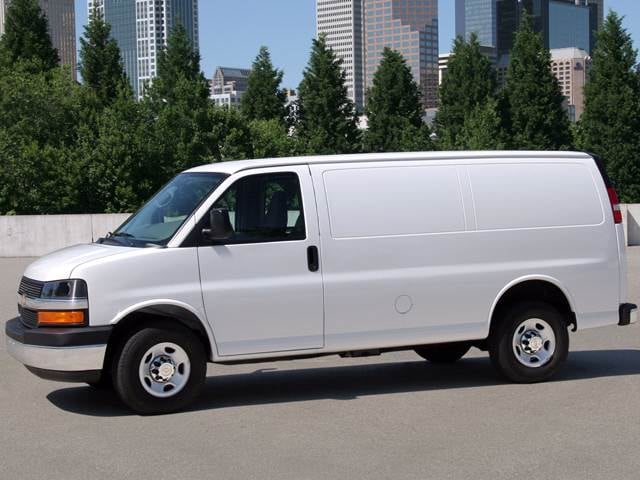 Most Popular Vans/Minivans of 2011 - 2011 Chevrolet Express 2500 Cargo