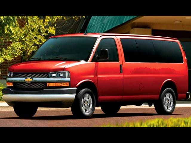 Highest Horsepower Vans/Minivans of 2011 - 2011 Chevrolet Express 2500 Passenger