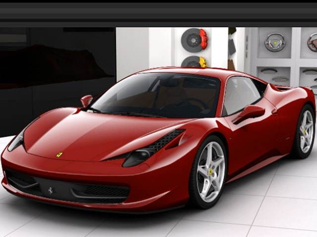 Highest Horsepower Coupes of 2011 - 2011 Ferrari 458 Italia