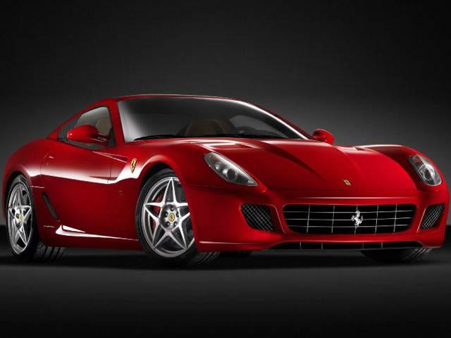 Highest Horsepower Luxury Vehicles of 2011 - 2011 Ferrari 599 GTB Fiorano