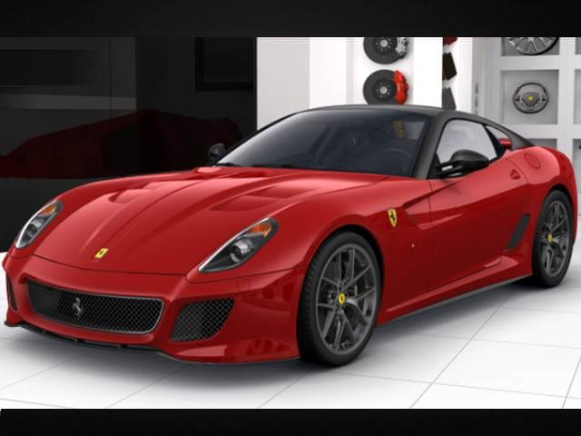 Highest Horsepower Luxury Vehicles of 2011 - 2011 Ferrari 599 GTO