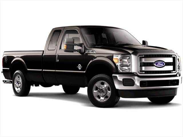 Highest Horsepower Trucks of 2011 - 2011 Ford F350 Super Duty Super Cab