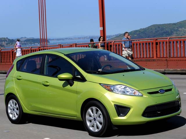 Best Safety Rated Hatchbacks of 2011 - 2011 Ford Fiesta