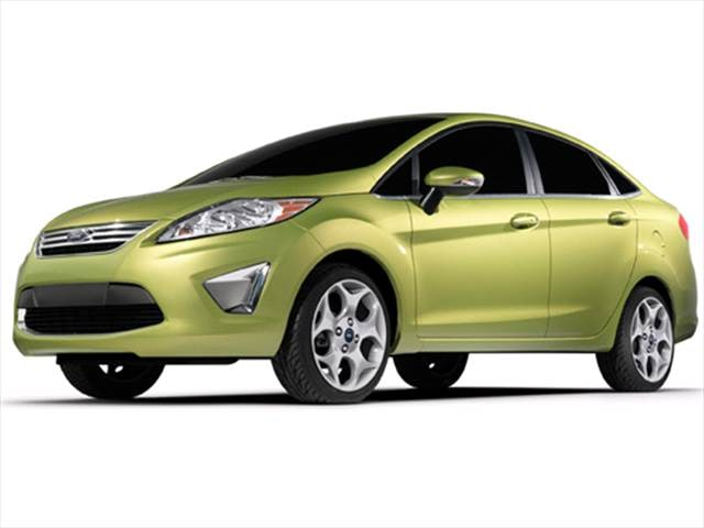 Top Expert Rated Sedans of 2011 - 2011 Ford Fiesta