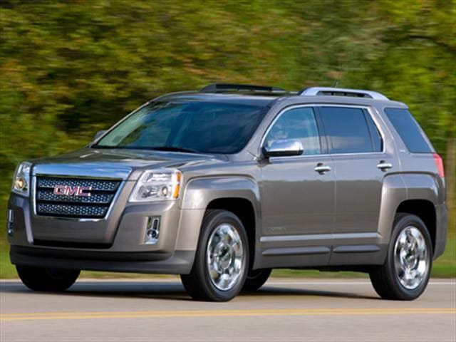 Best Safety Rated SUVs of 2011 - 2011 GMC Terrain