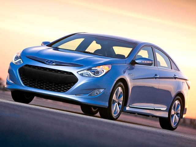 Most Popular Hybrids of 2011 - 2011 Hyundai Sonata