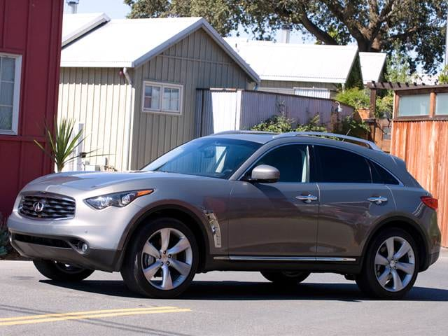 Highest Horsepower Crossovers of 2011 - 2011 INFINITI FX