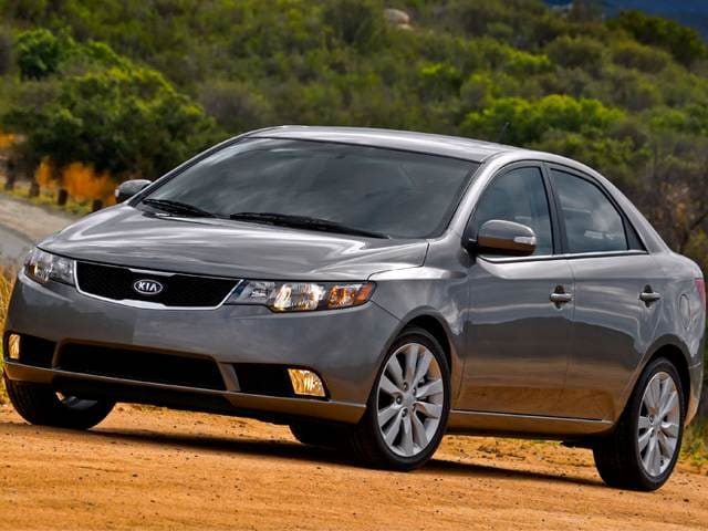 Best Safety Rated Sedans of 2011 - 2011 Kia Forte