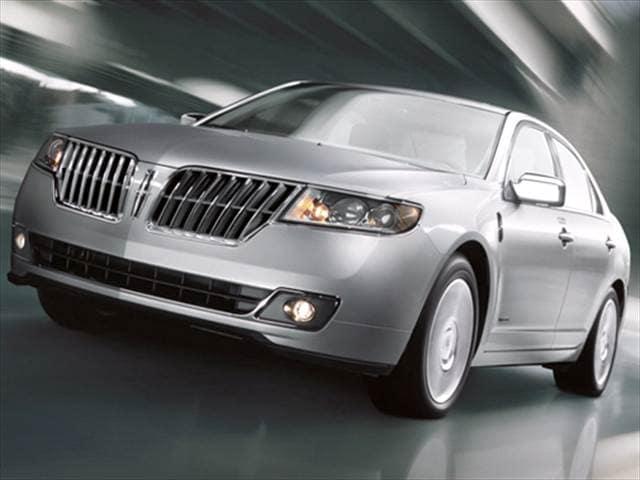 Top Expert Rated Hybrids of 2011 - 2011 Lincoln MKZ