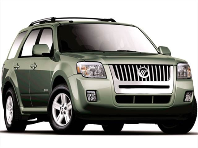 Most Fuel Efficient Crossovers of 2011 - 2011 Mercury Mariner