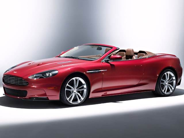 Highest Horsepower Convertibles of 2012 - 2012 Aston Martin DBS
