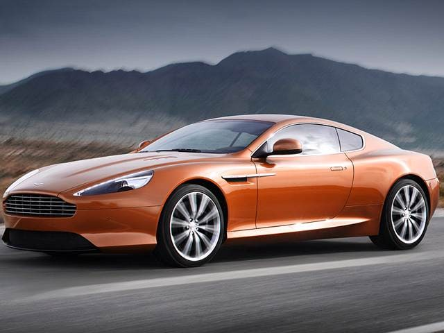 Top Consumer Rated Luxury Vehicles of 2012 - 2012 Aston Martin Virage
