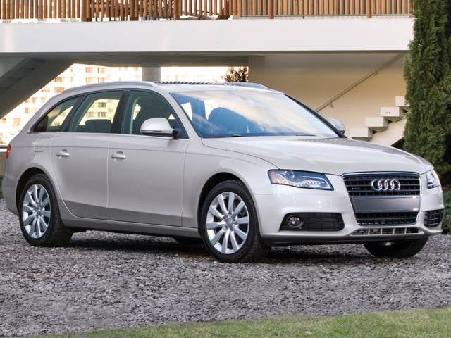 Best Safety Rated Wagons of 2012 - 2012 Audi A4
