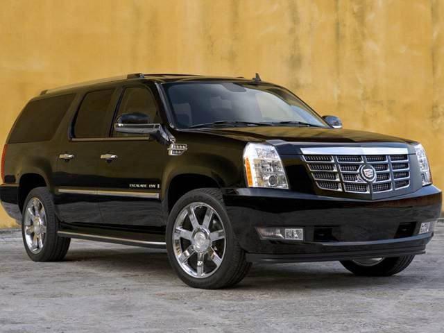 Best Safety Rated SUVs of 2012 - 2012 Cadillac Escalade ESV