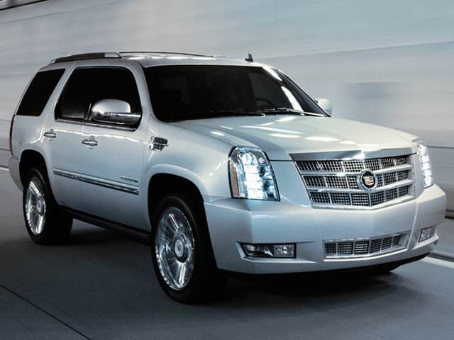 Highest Horsepower SUVs of 2012 - 2012 Cadillac Escalade