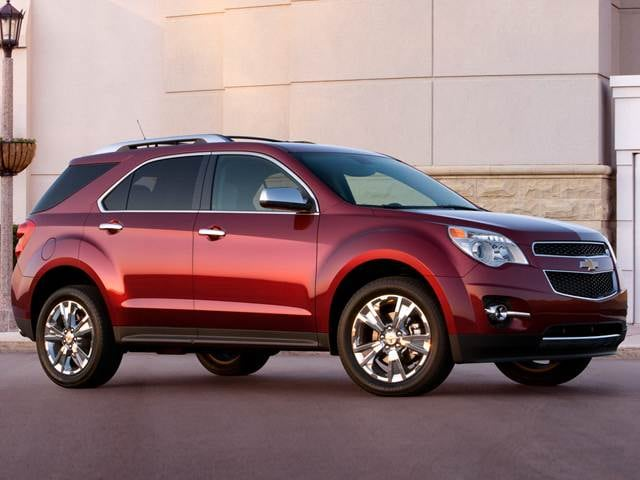 Most Fuel Efficient SUVs of 2012 - 2012 Chevrolet Equinox