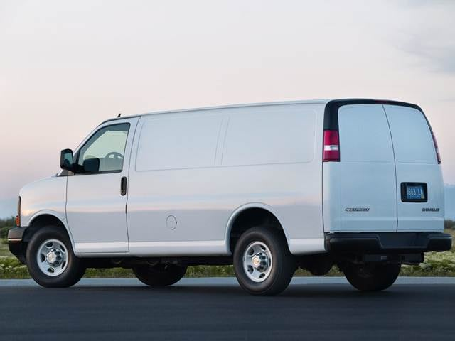 Most Popular Vans/Minivans of 2012 - 2012 Chevrolet Express 1500 Cargo