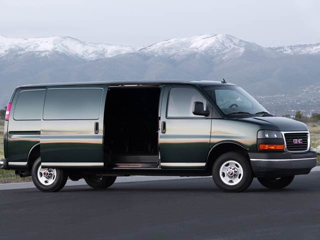 Most Popular Vans/Minivans of 2012 - 2012 Chevrolet Express 2500 Passenger