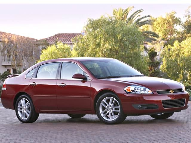 Most Popular Sedans of 2012 - 2012 Chevrolet Impala