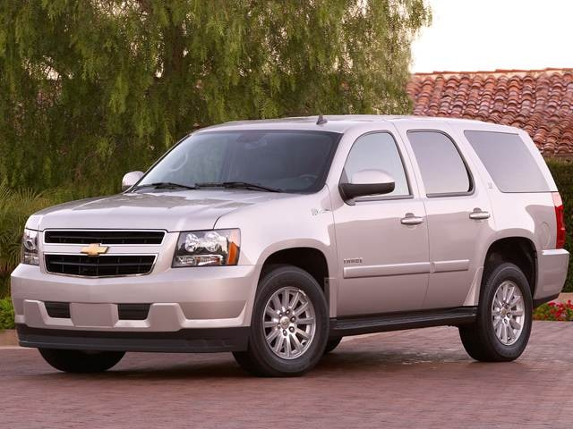 Most Popular Hybrids of 2012 - 2012 Chevrolet Tahoe