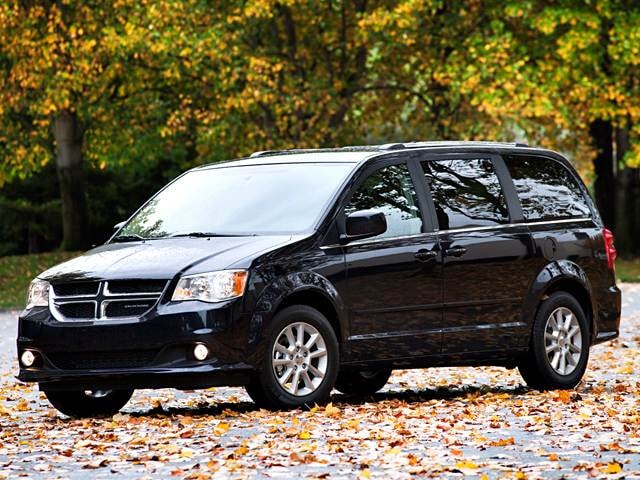 Top Expert Rated Vans/Minivans of 2012 - 2012 Dodge Grand Caravan Passenger