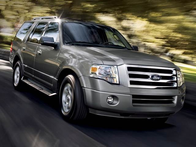 Best Safety Rated SUVs of 2012 - 2012 Ford Expedition