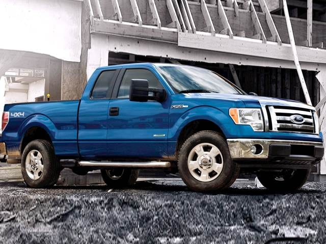 Best Safety Rated Trucks of 2012 - 2012 Ford F150 Super Cab