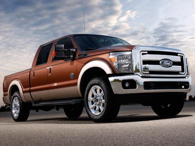 Top Expert Rated Trucks of 2012 - 2012 Ford F350 Super Duty Crew Cab