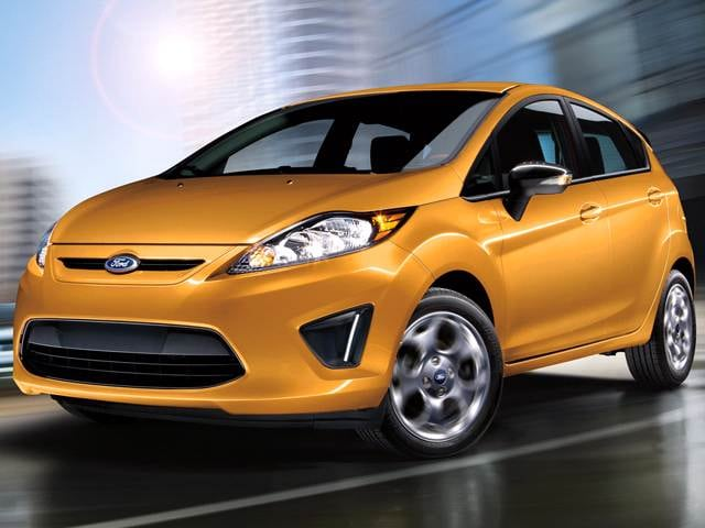 Best Safety Rated Hatchbacks of 2012 - 2012 Ford Fiesta