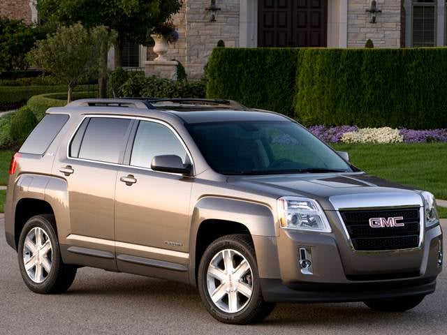 Most Fuel Efficient SUVs of 2012 - 2012 GMC Terrain