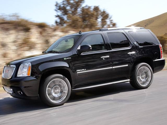 Best Safety Rated SUVs of 2012 - 2012 GMC Yukon