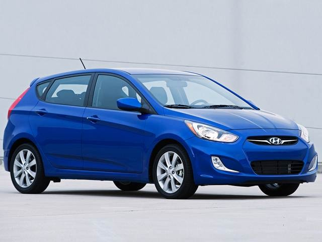 Best Safety Rated Hatchbacks of 2012 - 2012 Hyundai Accent