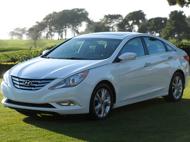 Most Popular Sedans of 2012 - 2012 Hyundai Sonata