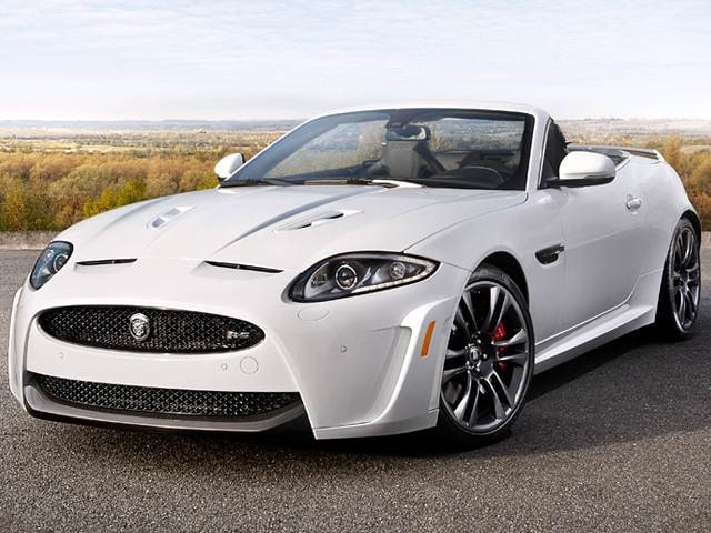 Highest Horsepower Convertibles of 2012 - 2012 Jaguar XK