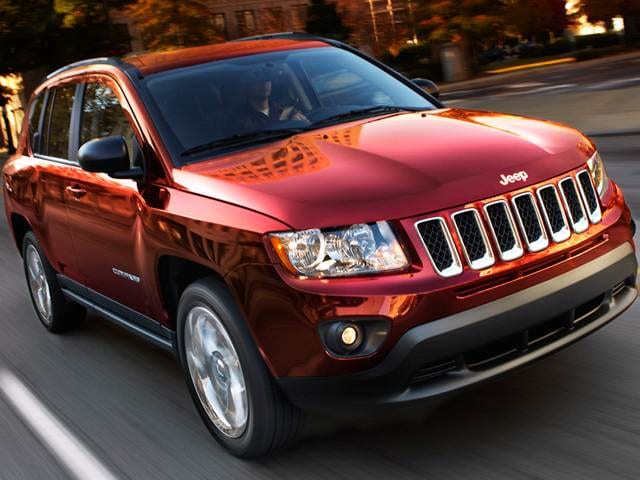 2012 Jeep Compass Sport SUV 4D Used Car Prices