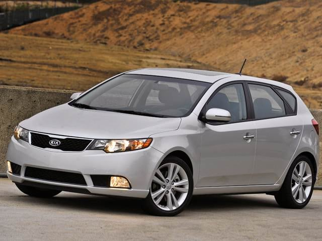 Best Safety Rated Hatchbacks of 2012 - 2012 Kia Forte