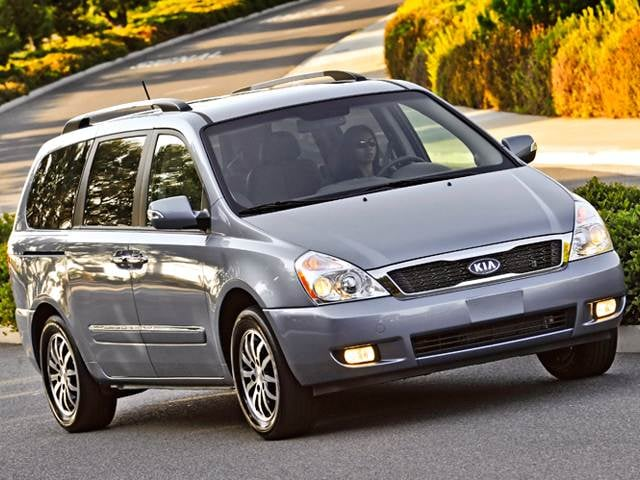 Top Expert Rated Vans/Minivans of 2012