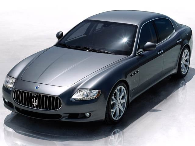 Top Consumer Rated Sedans of 2012 - 2012 Maserati Quattroporte