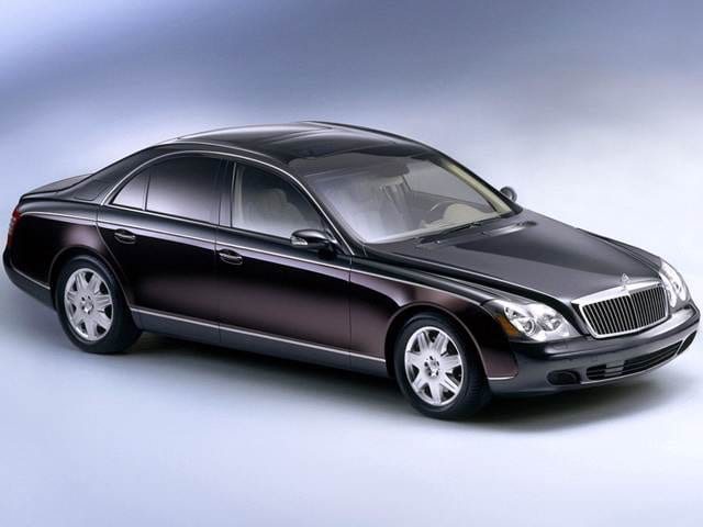 Highest Horsepower Luxury Vehicles of 2012 - 2012 Maybach 57